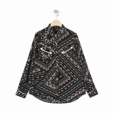 [여성]웨스턴 컨셉 셔츠형 블라우스(T192MBL140NW.E)