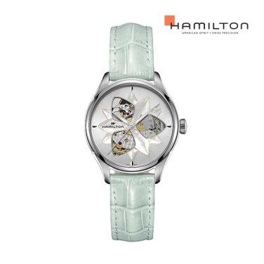 H32115891 재즈마스터 오픈하트 레이디 MOP 그린  여성 시계