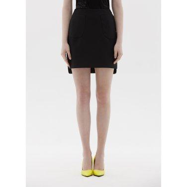pocket skirt black ST01