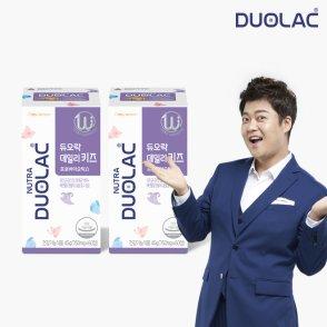 듀오락 데일리키즈 프로바이오틱스 유산균 2통(60일분)