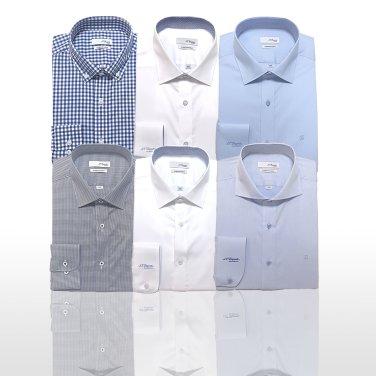 [2매세트] 듀퐁 슬림핏 긴팔셔츠 6종택2 SD9SM22LS904SWH외