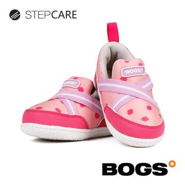 [보그스] 밴드-도트핑크 아동 운동화 키즈운동화