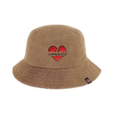 NOMANTIC CORDUROY BUCKET HAT BEIGE