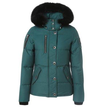 무스너클 18F/W 여성 쓰리쿼터 재킷 MK2229L3Q 그린애쉬
