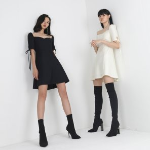 IDOL DRESS BLACK