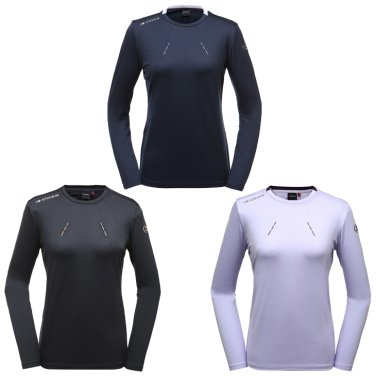 IDU (아이두) 여성 라운드 티셔츠  (DWU19212)