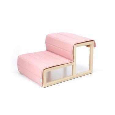 쿠션탈착용 원목 스텝 사뿐(SAPPUN)-pink