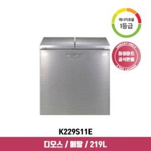 [으뜸효율환급대상] LG전자 뚜껑형 김치냉장고 K229S11E (219L) 디오스
