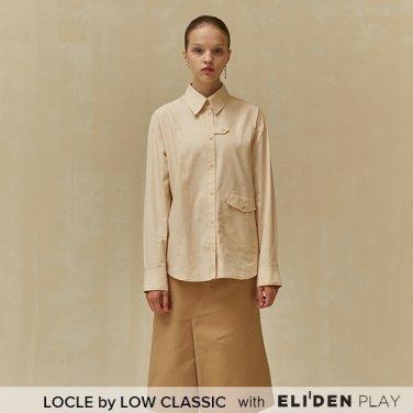[로우클래식] 19 FALL LOCLE Stitch point shirt_cream (Z3LCI6ST102)