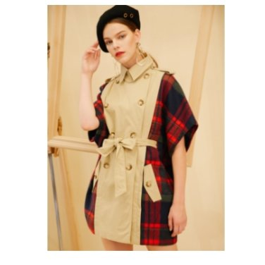 [아인에디션]AHIN TRENCH CHECK COAT2_COLOR(FC-CO-555)
