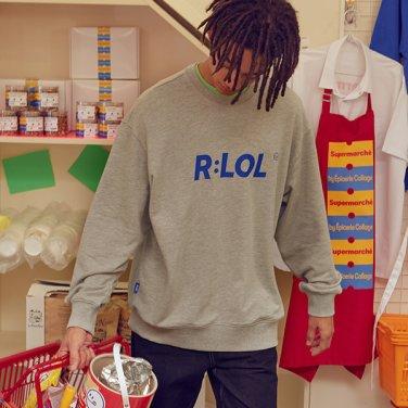 [RLOL] (TS-19701) RLOL BASIC SWEATSHIRT GRAY