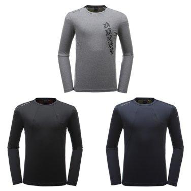 FLEXY (플렉시) 남성 라운드 티셔츠 / 긴팔  DMU19213