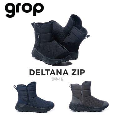 GROP Deltana ZIP (델타나짚) SHSH914(행사4종) 여성 방한 패딩 부츠