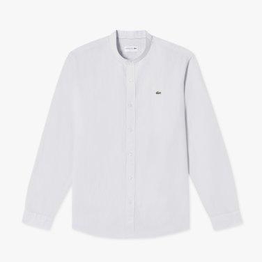 (남성) 코튼 린넨 헨리넥 셔츠 CH720E-19B_03R_KR217