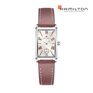 H11221814 아메리칸클래식 아드모아 로즈 가죽 여성 시계 스몰 사이즈
