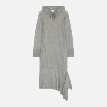 스웨터 후드 롱 드레스 (VWMT2OO57LL0)
