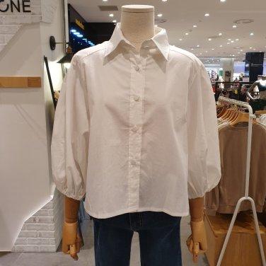 미니벌룬소매셔츠(ODSC3029)