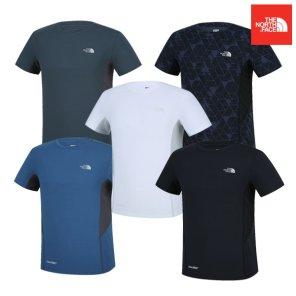 남성용 킵 쿨 반팔 라운드 티셔츠 NFT7UI03
