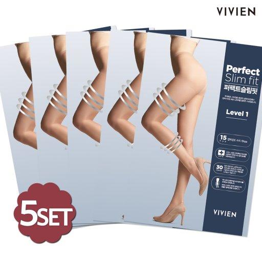 5SET 퍼펙트 슬림핏 1단계 압박스타킹 PH2421