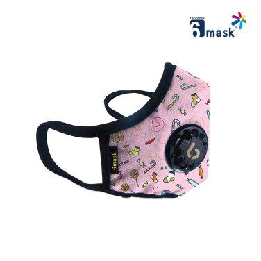 KF94 인증 패션 마스크 핑크라벨