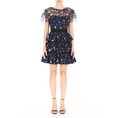 [셀프포트레이트]미니 드레스 SP20 120 NAVY