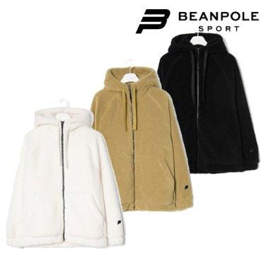 남성 부클 플리스 후드 집업 재킷 (BO9X41DN1)
