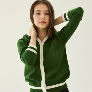 color cardigan_green