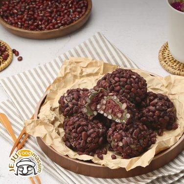 ◆[시담] 제주전통오메기떡 (팥오메기 60gx50개입, 부직포가방 포함)