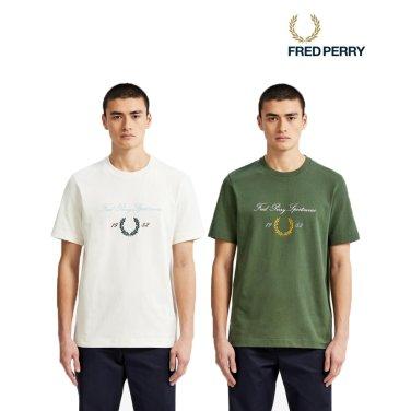 [S/S상품] FP 아카이브 브랜디드 티셔츠 2종 AFPM1915541