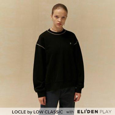 [로우클래식] 19 FALL LOCLE Sweat shirt_black (Z3LCI6TS101)