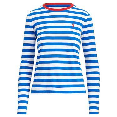 폴로 랄프 로렌 스트라이프 코튼 셔츠(WMPOKNIN6810168B35)
