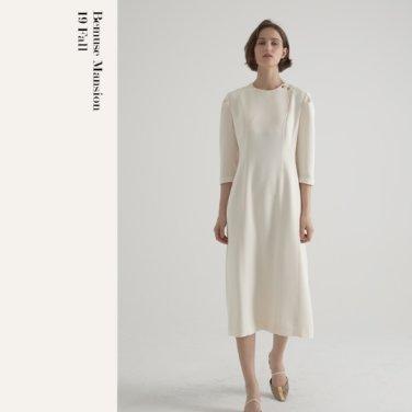 [비뮤즈맨션]2 way neckline one-piece 2color (19BMFW4E)