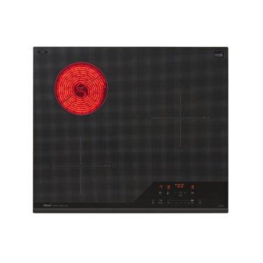 (80mm스탠딩) 3구 하이브리드 전기레인지 RBE-IR3000A