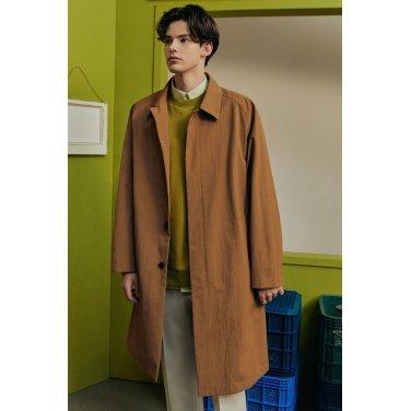 2020 S/S [S:GNAL] 브라운 단색 면혼방 코트 [TGTR0A801W1]