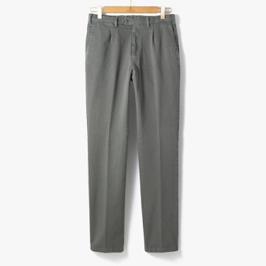 CLASSIC COTTON PANTS (WASHED) MINT GRAY/TB92M30003A12