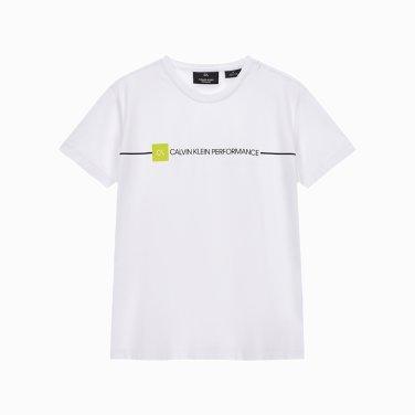시즈널 로고 루즈핏반팔 티셔츠 4WF9K195-100