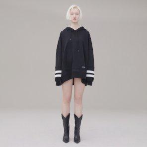 Hoody 002 Black(Unisex)