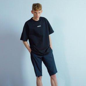 Lettering t-shirt 003 Black