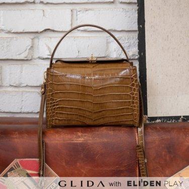 [그리다] GLIDA OPENING Bag (S) - Brown (GOCBR-01)