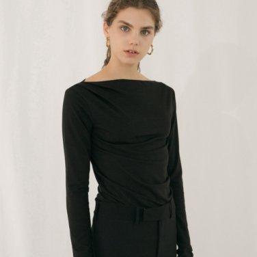 Drape T-shirt - Black