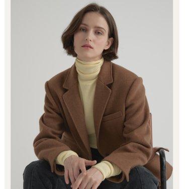 [비뮤즈맨션]Wool herringbone jacket (19BMFW3E)
