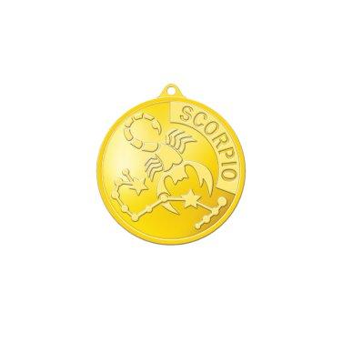 별자리메달-전갈자리 3.75g