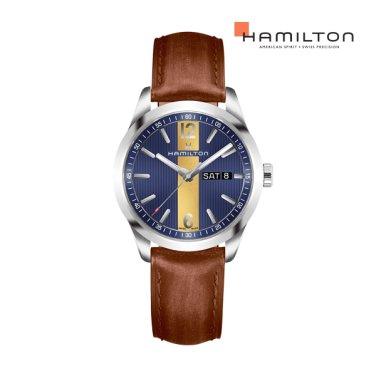 H43311541 브로드웨이 데이데이트 쿼츠 브라운 남성 시계
