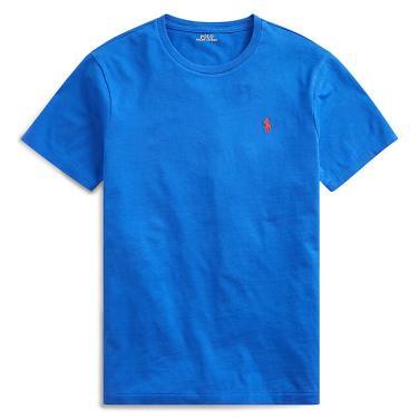 폴로 랄프 로렌 커스텀 슬림 크루넥 티셔츠(MNPOTSH1N810377B28)