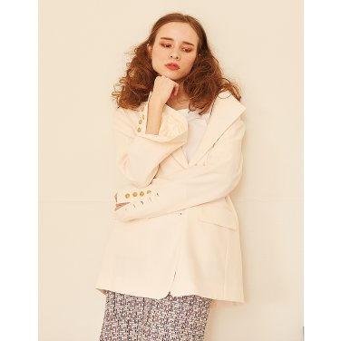 Button Jacket _ Cream
