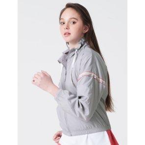 그레이 여성 ACTIVE 트랙 수트 재킷 (BO9239E023)