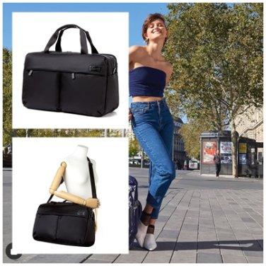 비즈니스백 P6101007 블랙 CITY PLUME 24H Bag 남여공용 보스턴백 출장 여행 가방