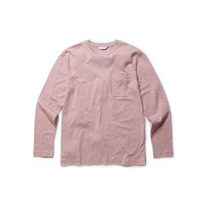슬럽 코튼 포켓 라운드 티셔츠 NEA1TR1901