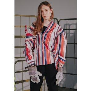 [TAZE] Bold Stripe Shirts 2_COLOR (TAZE18FW08)