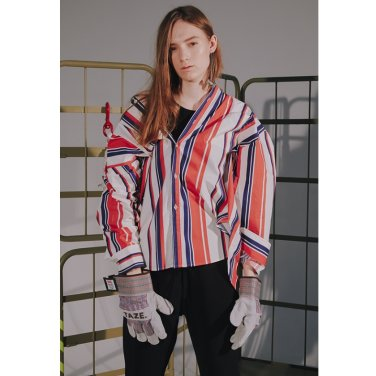 [TAZE] Bold Stripe Shirts 2_COLOR (TAZE18FW08)